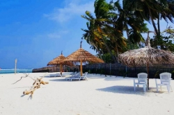 best beach in Maldives