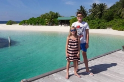 Children love Maldives