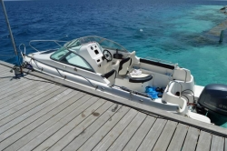 Maldives speedboat