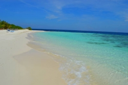 Maldives holiday - beach